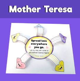 Spread Love Everywhere You Go - Mother Teresa Quotes