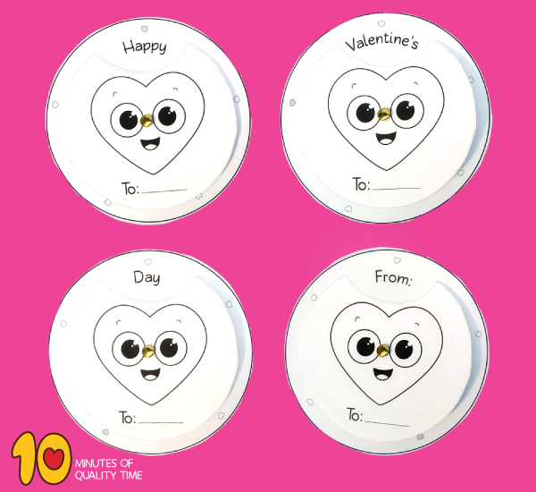 valentine's day activity sheets