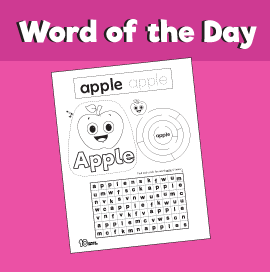 Word of the day apple