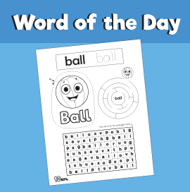 Word of the day - Ball