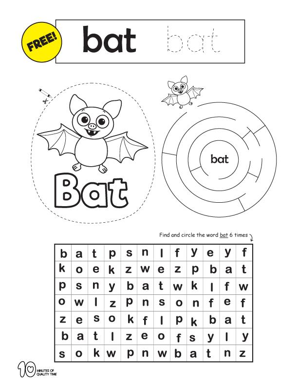printable spelling activities