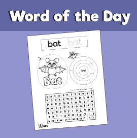 Word of the Day #11 - Bat