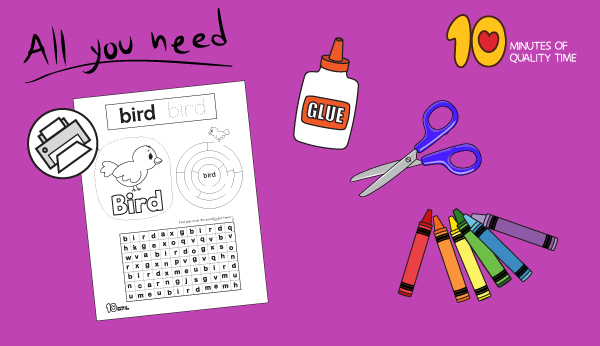 early reading worksheets