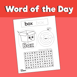 Word of the Day #6 - Box