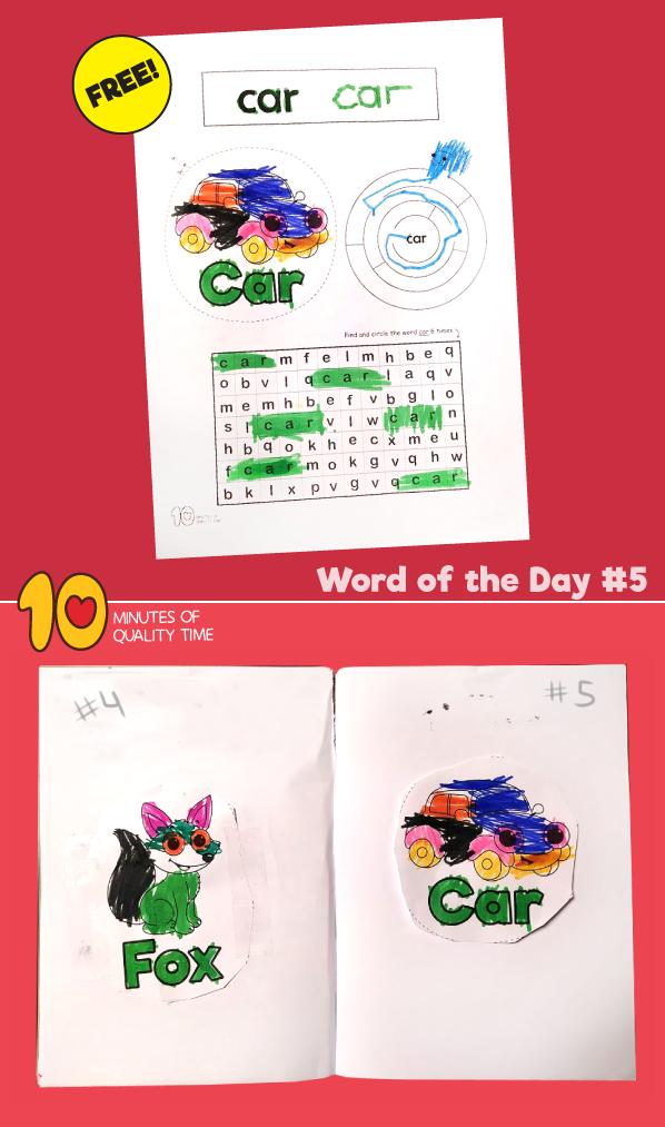 reading worksheets for pre-kindergarten