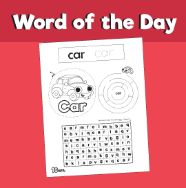Word of the day #5 - Car