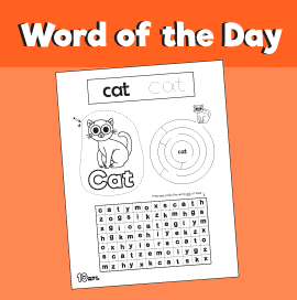 Word of the Day Cat