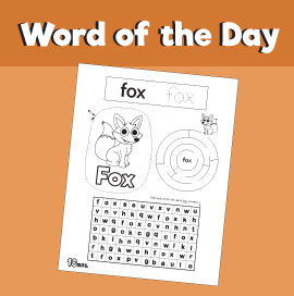 Word of the Day #4 - Fox