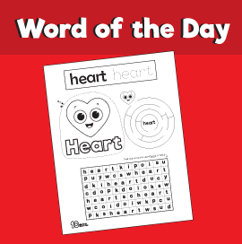 Word of the Day #9 - Heart