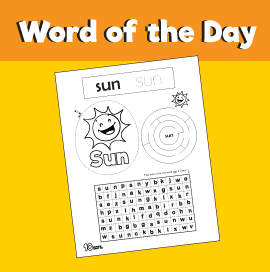 Word of the Day #12 - Sun