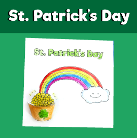 3D Pot of Gold Craft for St Patrick's Day