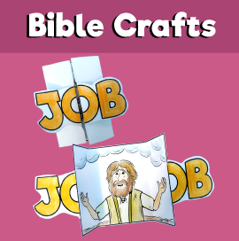 Job Bible Story Craft