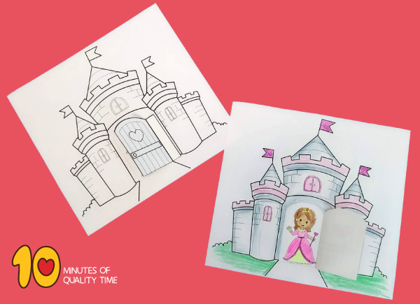 princess crafts for toddlers