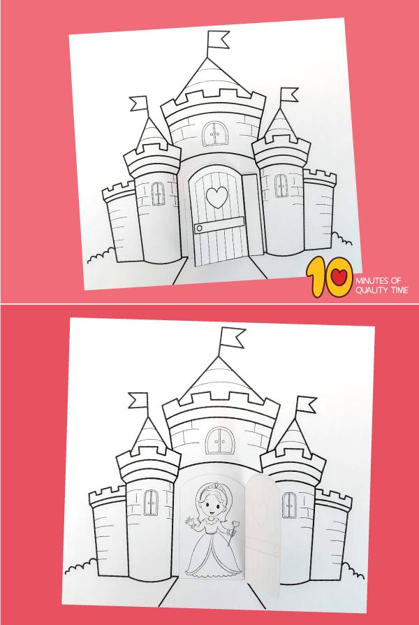 princess activity sheets