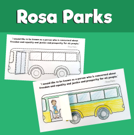 Rosa Parks Bus Craft