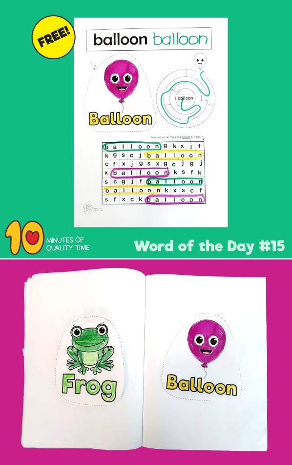 reading worksheets for preschool