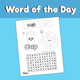 Word of the Day #16 - Cup