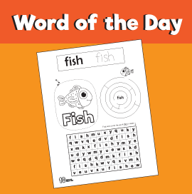 Word of the Day #18 - Fish