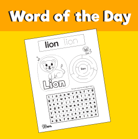 Word of the Day #19 - Lion