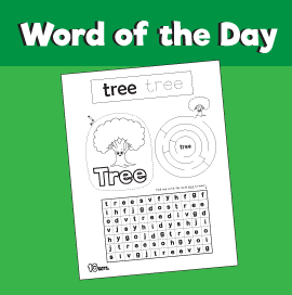 Word of the Day #15 - Tree