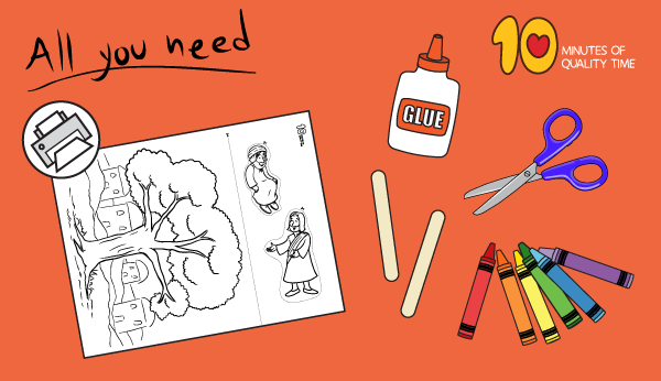 zacchaeus crafts for sunday school