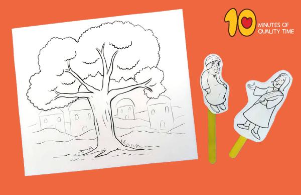 zacchaeus activity sheet