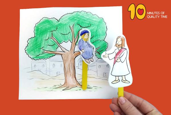 zacchaeus activity for sunday school
