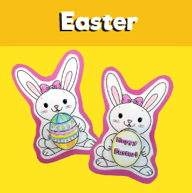 Bunny Flip Card for Easter