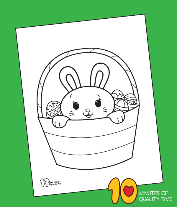 coloring page for easter