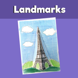 Eiffel Tower 3D Craft