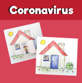 Fighting Coronavirus - Staying Home Craft