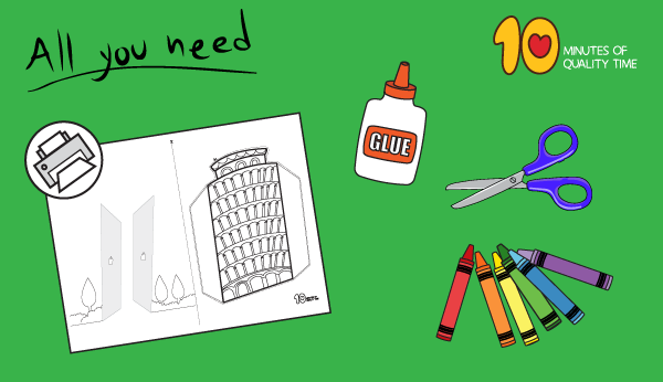 leaning tower of pisa craft ideas