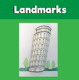 Leaning Tower of Pisa Craft