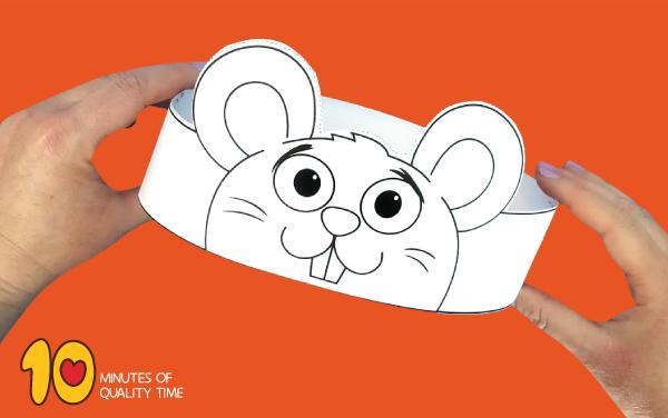 mouse craft kindergarten
