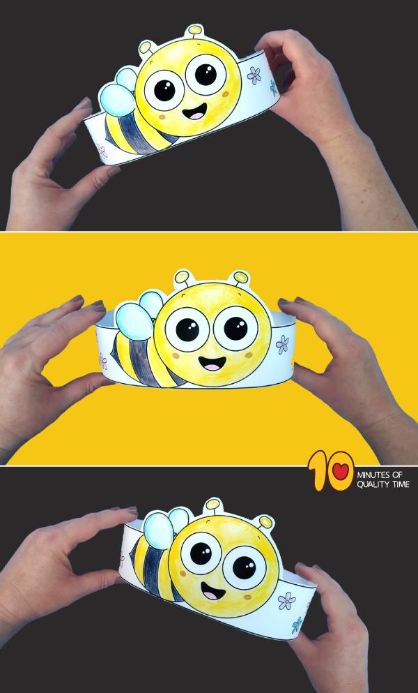 bee printable craft
