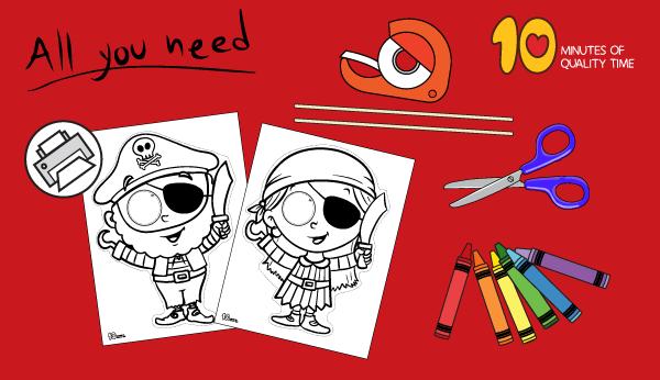 pirate craft ideas