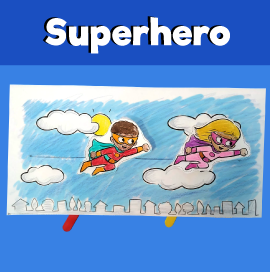Flying Superhero Craft