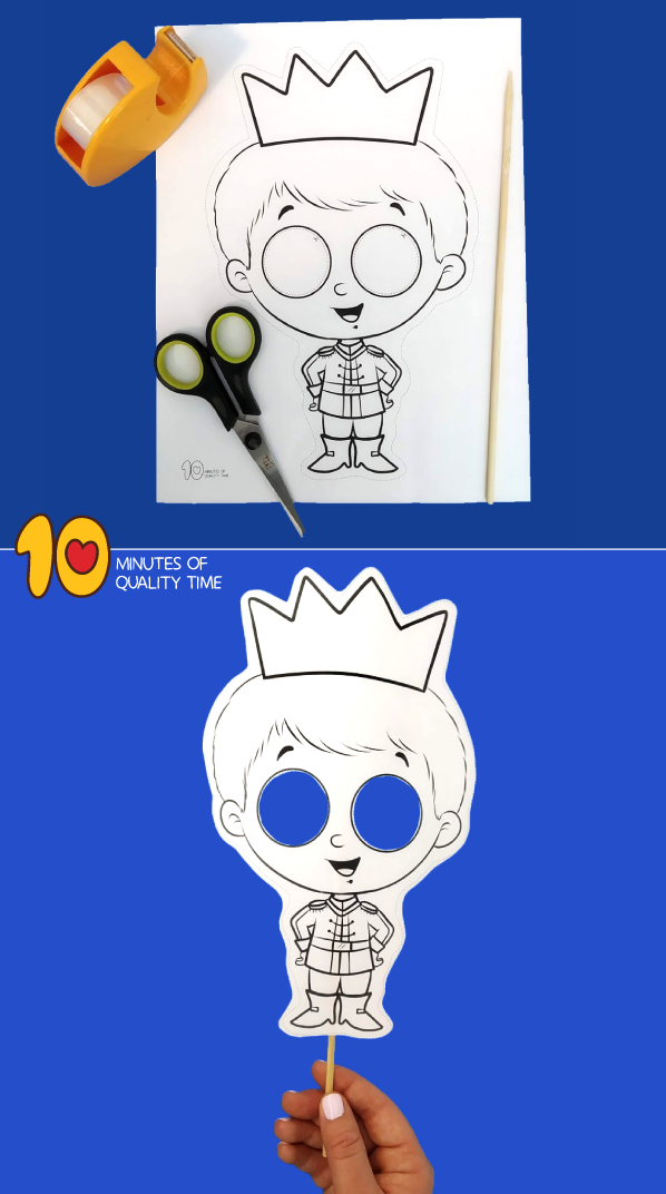 prince and princess craft ideas