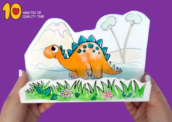 stegosaurus arts and crafts