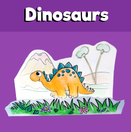 Stegosaurus Craft
