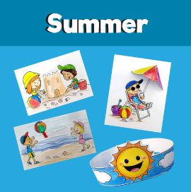 Summer Beach Crafts for Kids