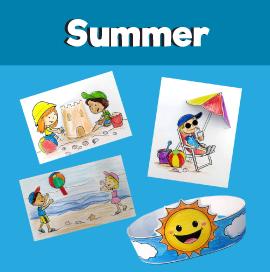 Summer Beach Crafts for Kids