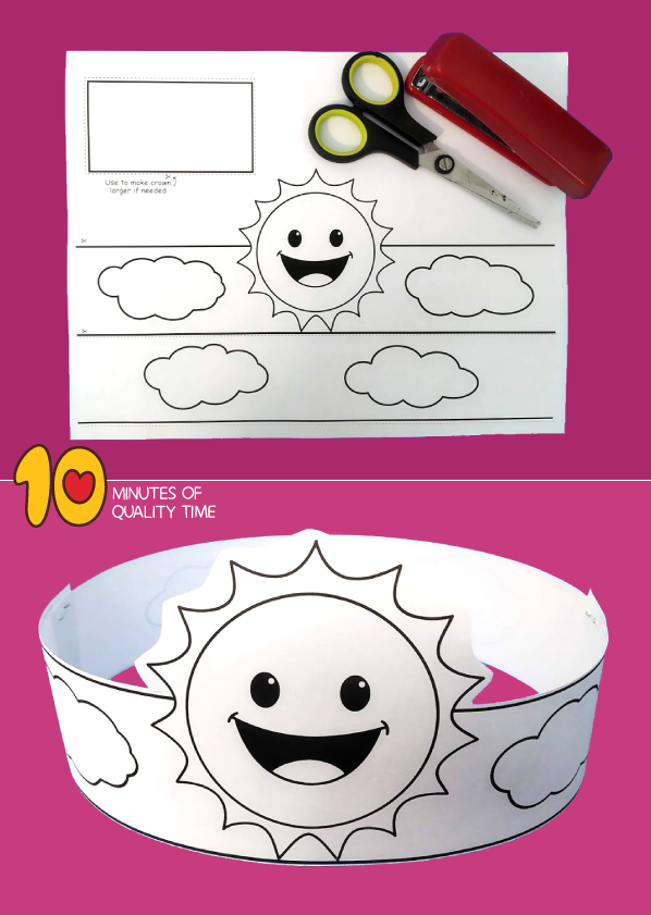 sun craft template