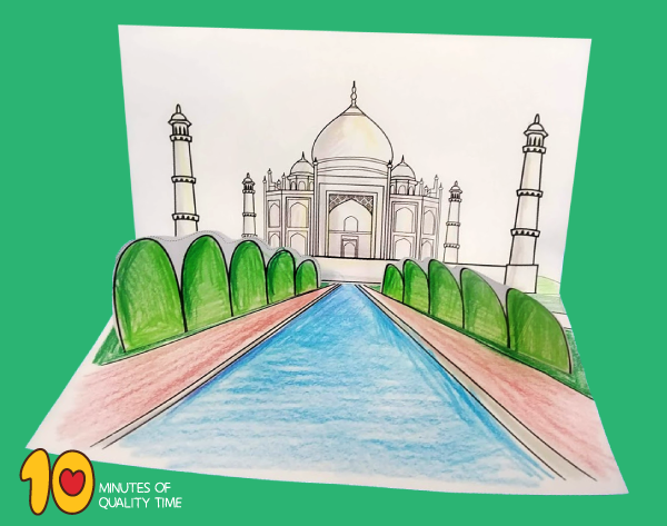 taj mahal craft ideas