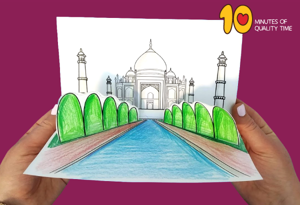 taj mahal craft activities