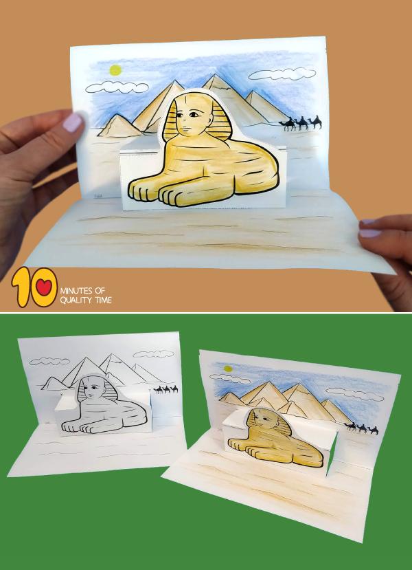printable pyramid template