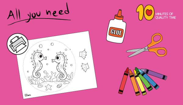 seahorse craft preschool