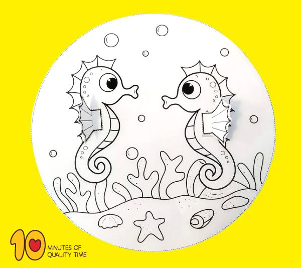 seahorse craft ideas