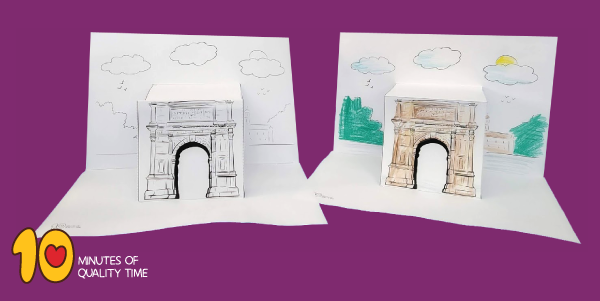 arch of titus images