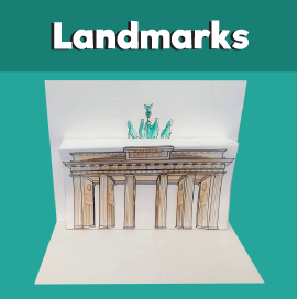 Brandenburg Gate 3D Craft